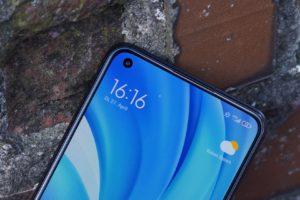 Xiaomi Mi 11 Lite 4G Selfie Kamera