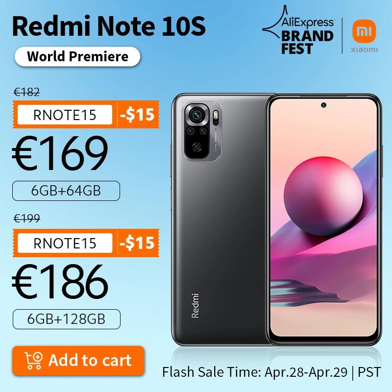Welt Premiere Auf Lager Xiaomi Redmi Note 10S Globale Version Smartphone 64MP Kamera Helio G95.jpg Q90.jpg