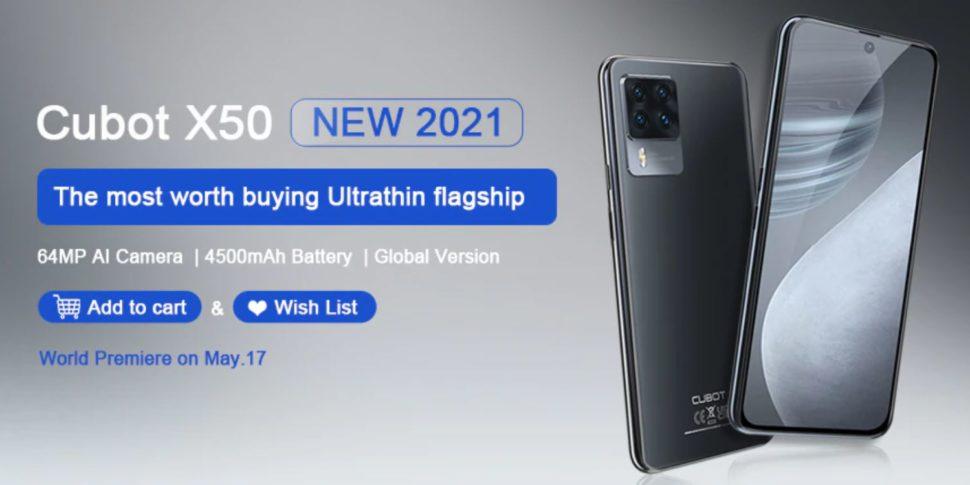 Cubot X50 Smartphone 4 e1620079391515