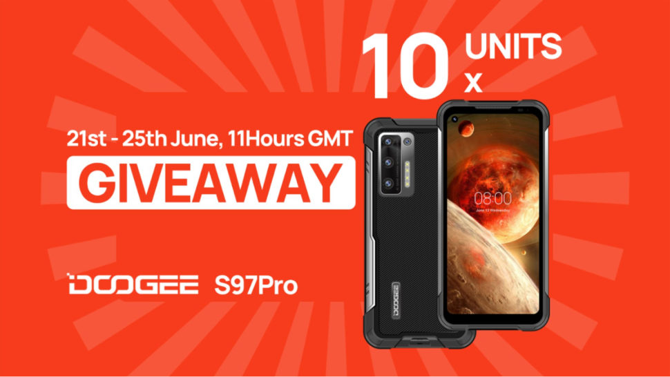 Doogee S97 Pro Laser Smartphone Giveaway 3