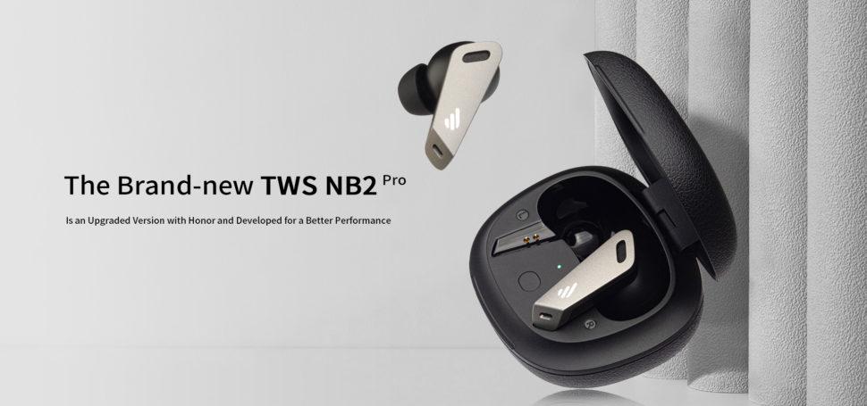 Edifier TWS NB2 Pro Design Verarbeitung Flag
