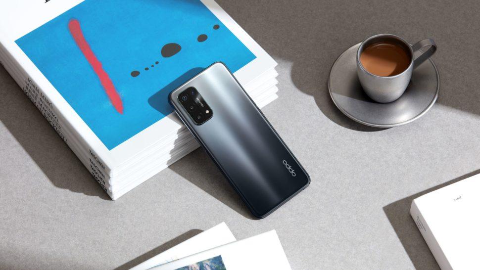 Oppo A54 5G Banner Fluid Black e1620228565658
