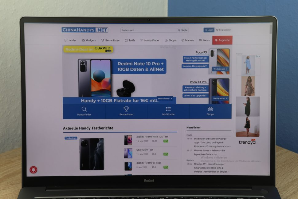RedmiBook Pro 15 Display 1