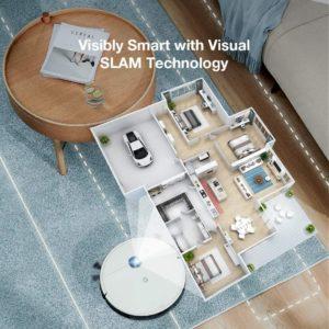 Yeedi 2 Hybrid Saugroboter SLAM