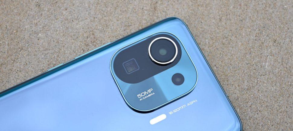 Xaiomi Mi 11 pro camera sensors