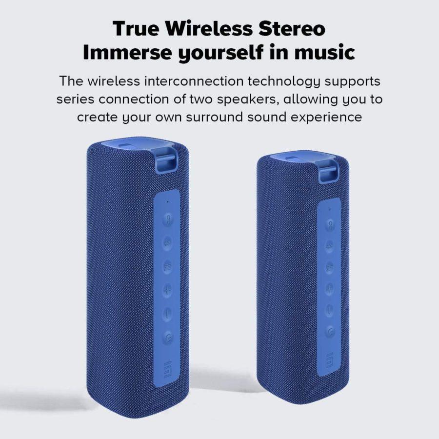 Xiaomi Mi Portable Bluetooth Speaker 16W Test Stereo