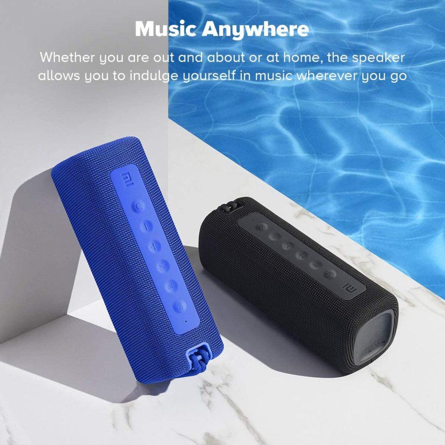 Xiaomi Mi Portable Bluetooth Speaker 16W Test Use
