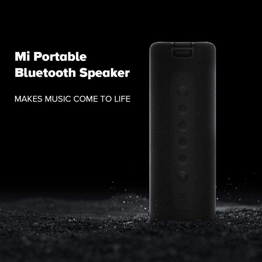 Xiaomi Mi Portable Bluetooth Speaker 16W Test bass
