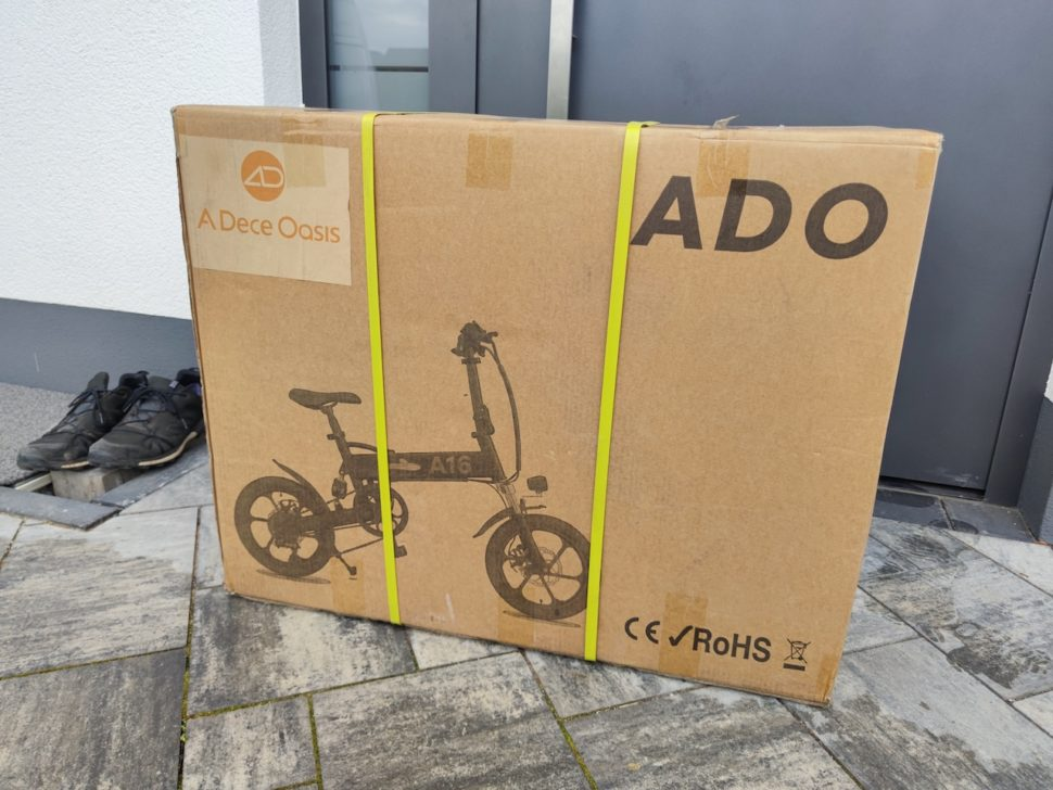 ADO A16 in Transportverpackung