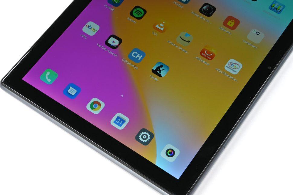 Blackview Tab 9 test display 2