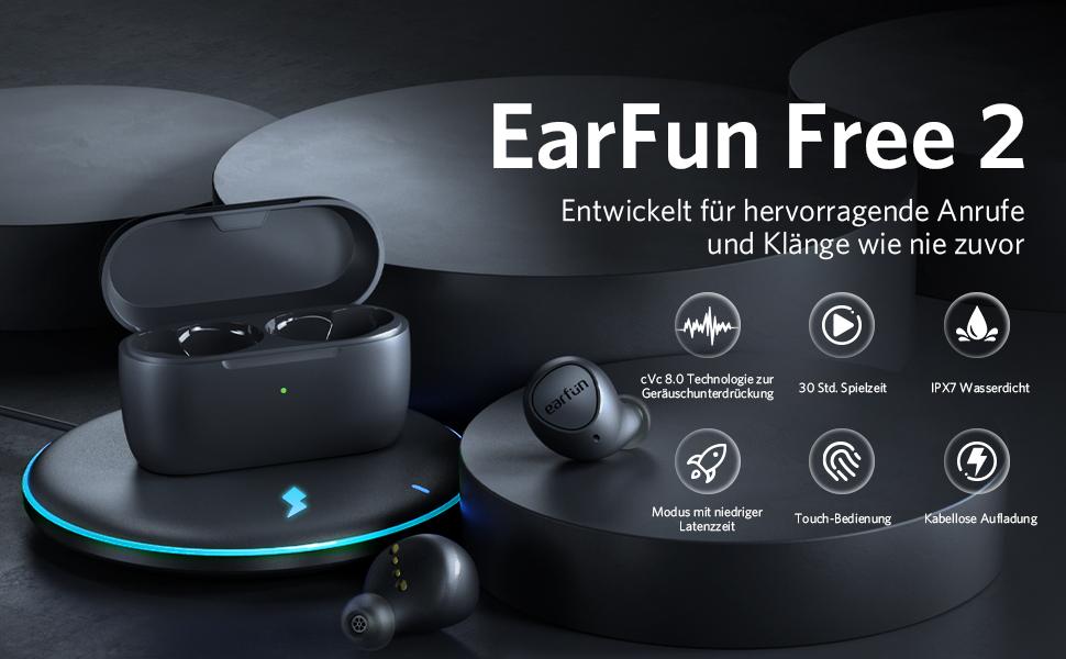 EarFun Free 2 Featrues All