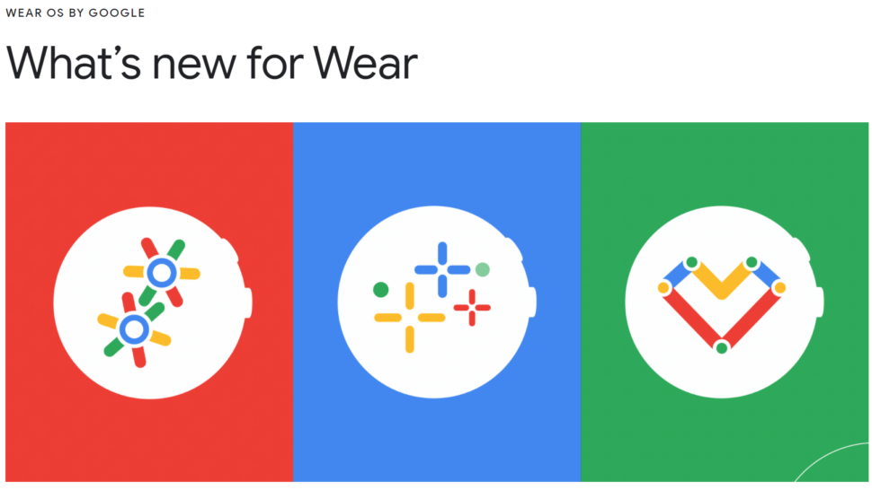 Android Wear OS Update 2021 2