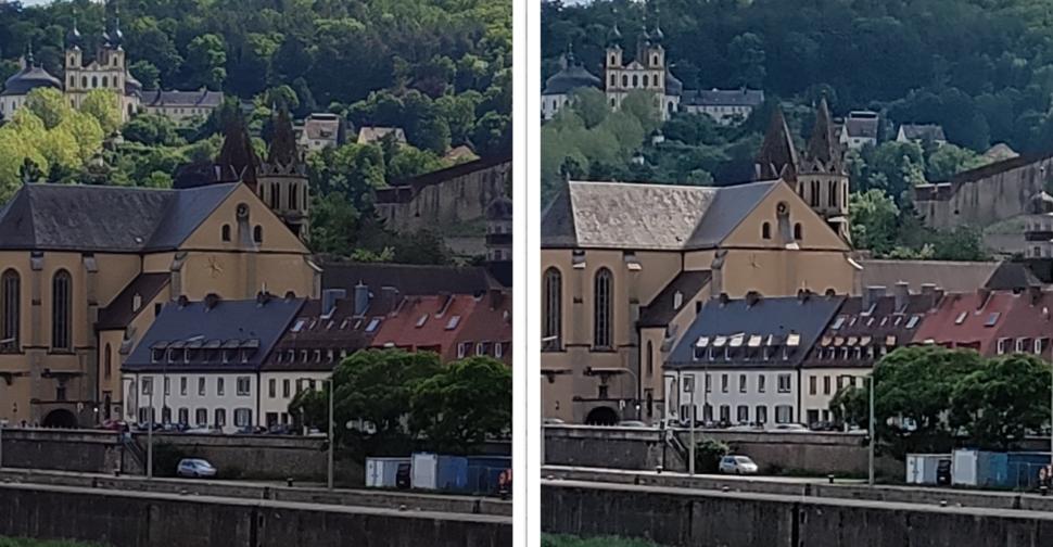 lossless Zoom Kameravergleich Nord CE Redmi Note 10 Pro Tageslicht