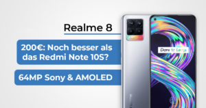 Realme 8 Featured Banner