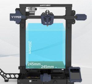 Anycubic Vyper Groesse