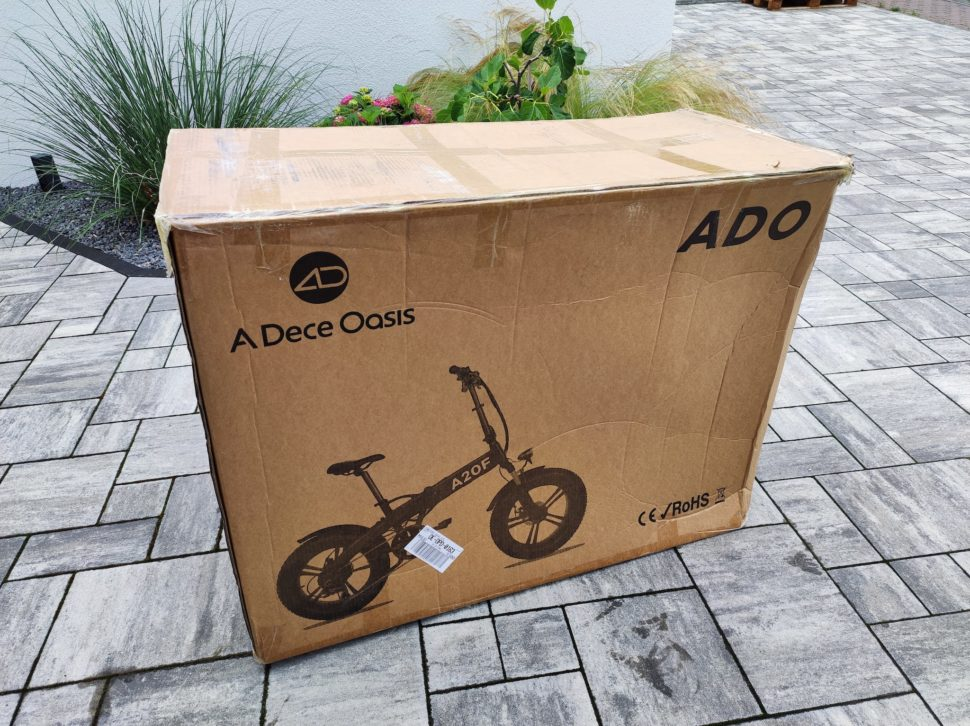 Unboxing: ADO A20F Testbericht