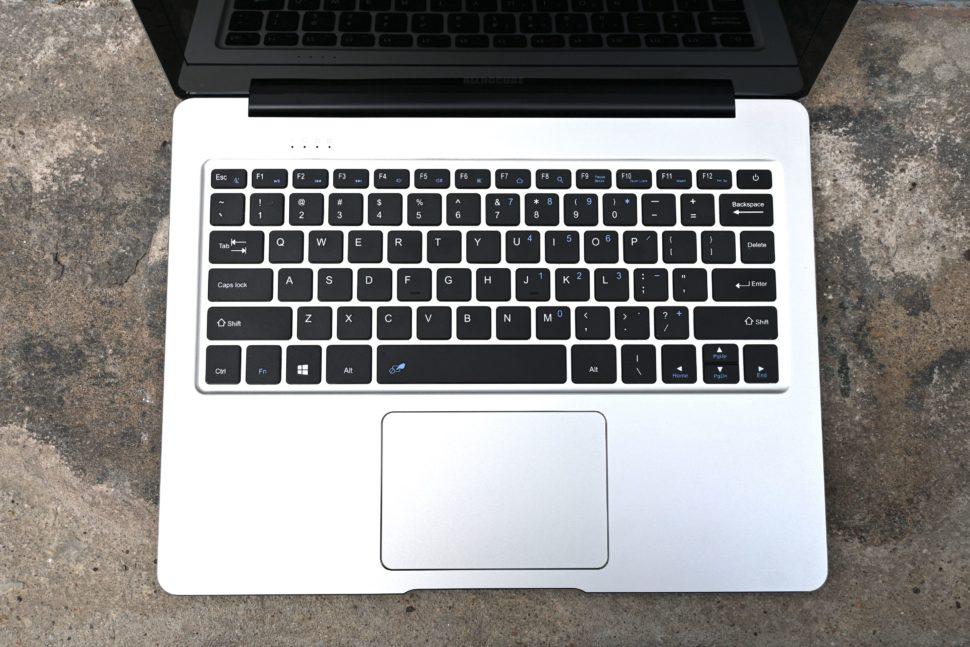 Alldocube Vbook keyboard touchpad
