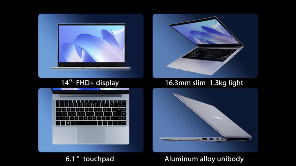 Blackview AceBook 1 Design und Verarbeitung