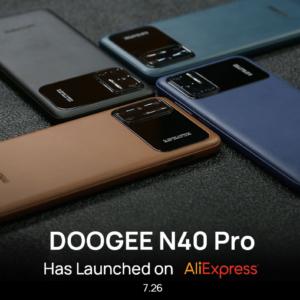Doogee N40 Pro Launch 1