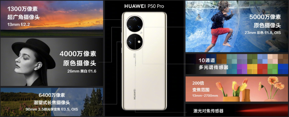 Huawei P50 Pro Camera Features