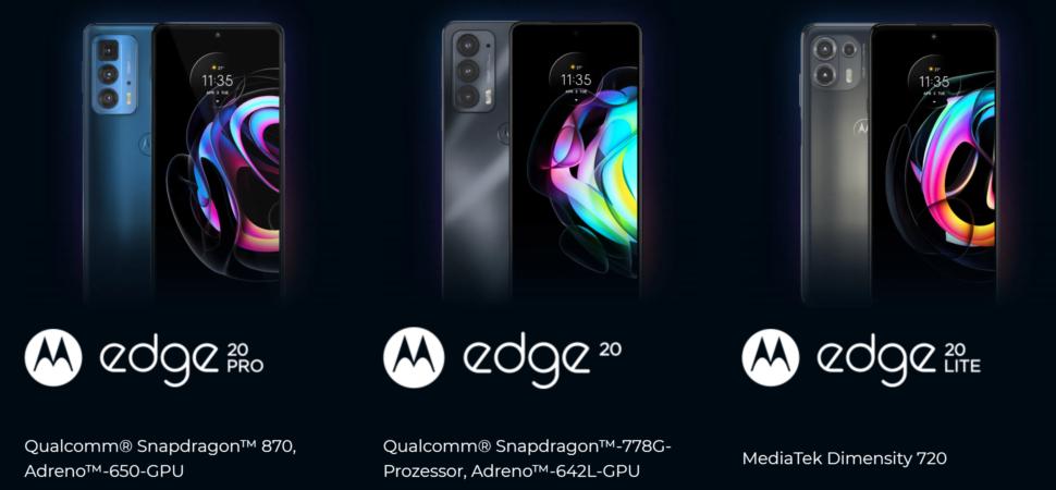Motorola Edge 20 Serie 1