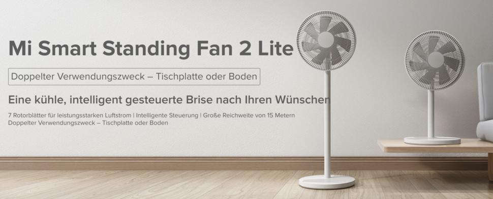 Xiaomi Mi Smart Standing Fan 2 Lite