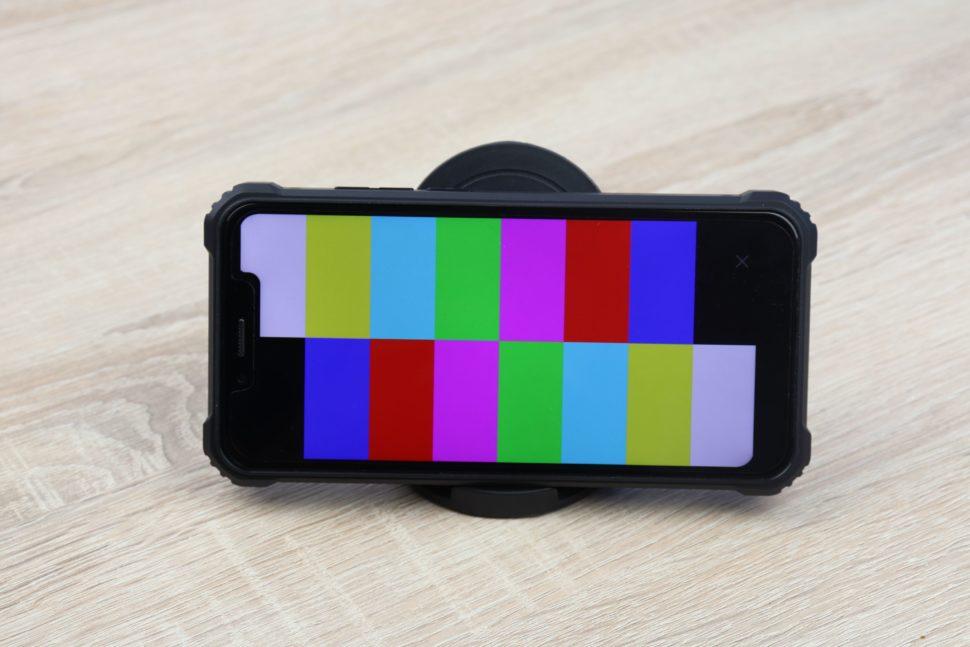 OUKITEL WP9 Bildschirm Farben