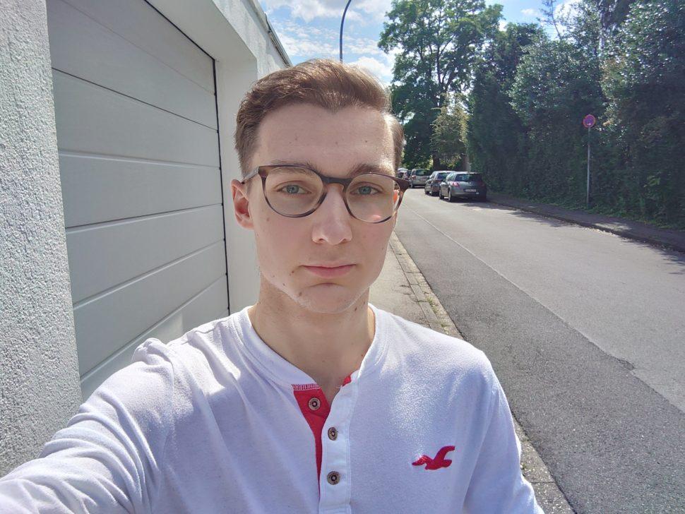 Beispielaufnahme Sony Xperia 1 III Selfie