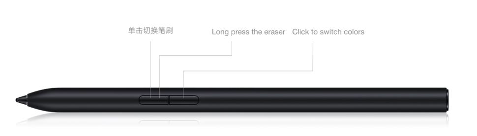 Xiaomi Mi Pad 5 Stylus Buttons