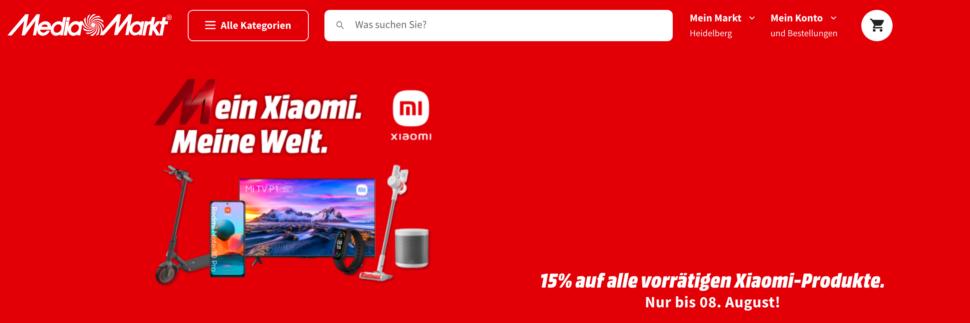 Mediamarkt Mein Xiaomi Meine Welt