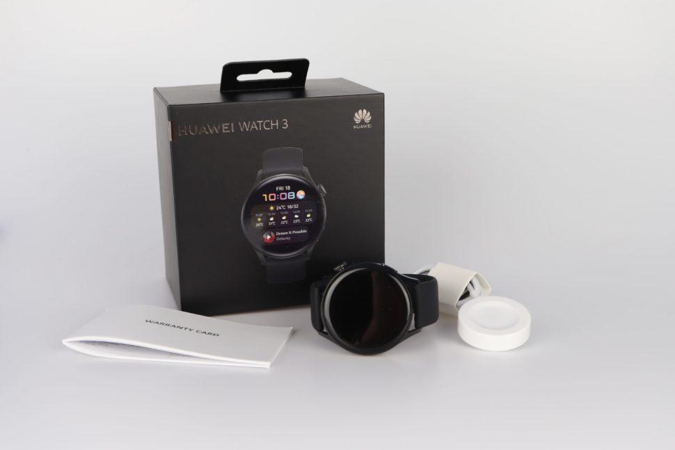 Huawei Watch 3 Lieferumfang