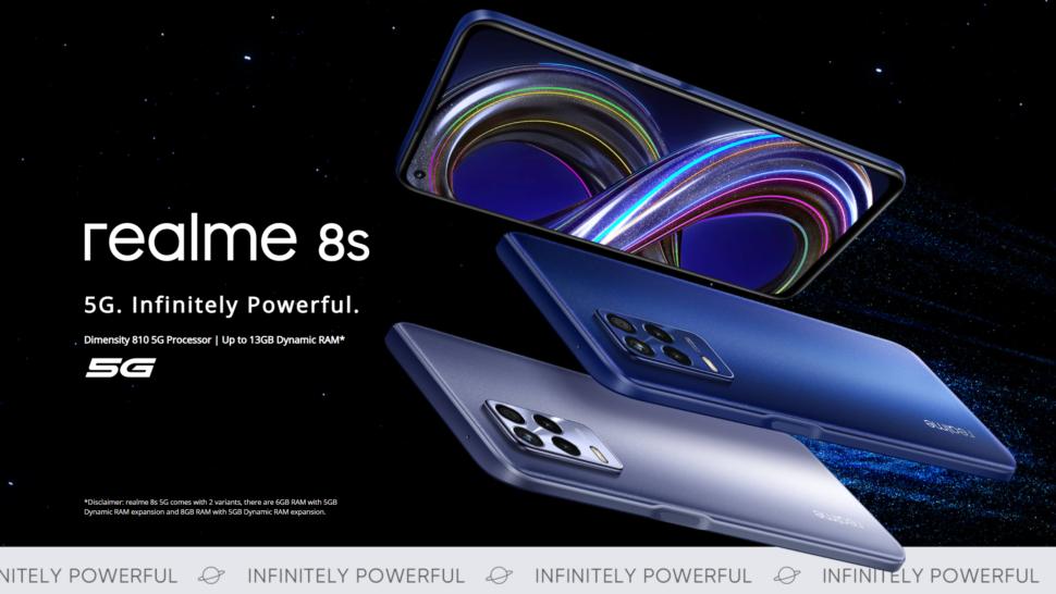 Realme 8s 5G vorgestellt 2
