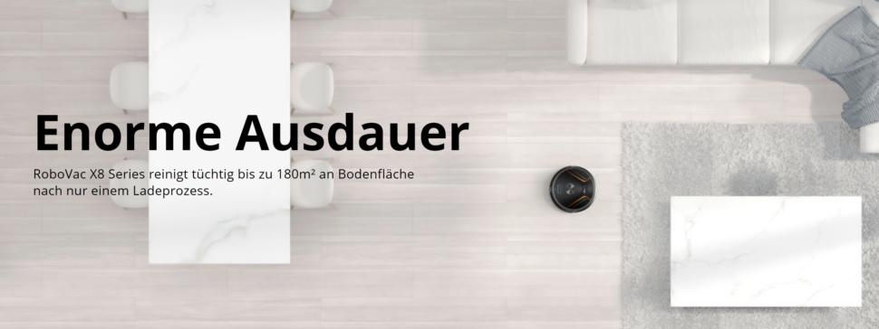 eufy RoboVac X8 Hybrid Saugroboter vorgestellt 8
