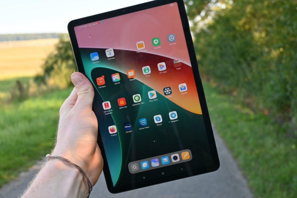 Xiaomi mi pad 5 pro display test 1