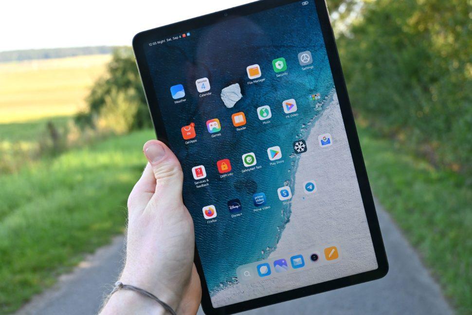 Xiaomi mi pad 5 pro display test 2