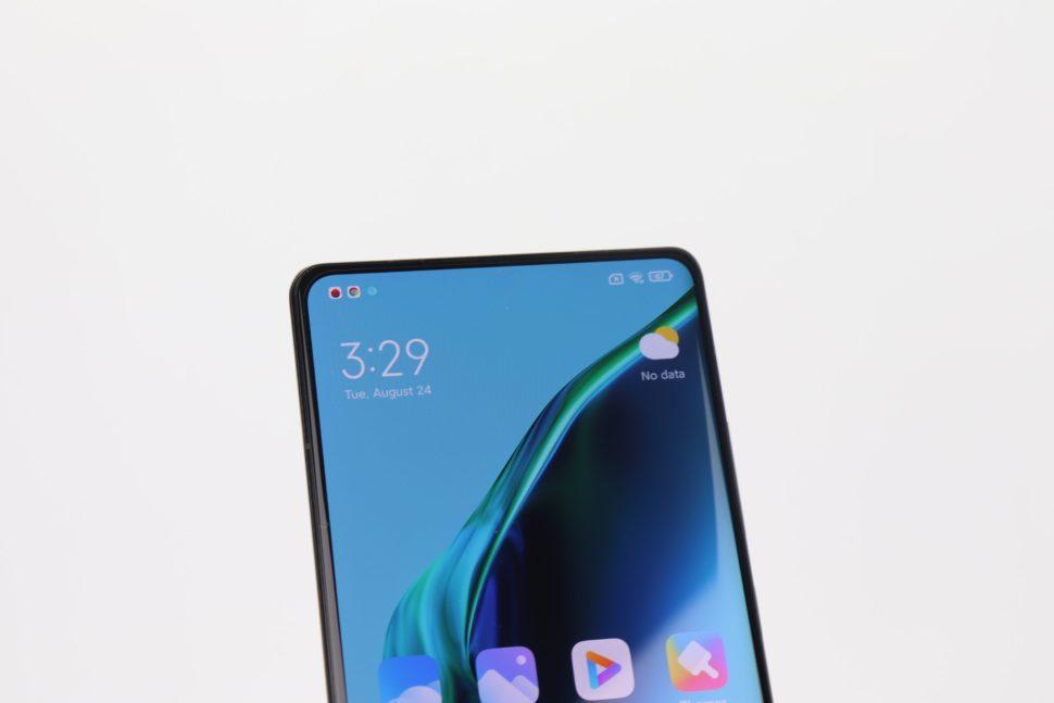 Xiaomi Mi Mix 4 Design Display Raender 2