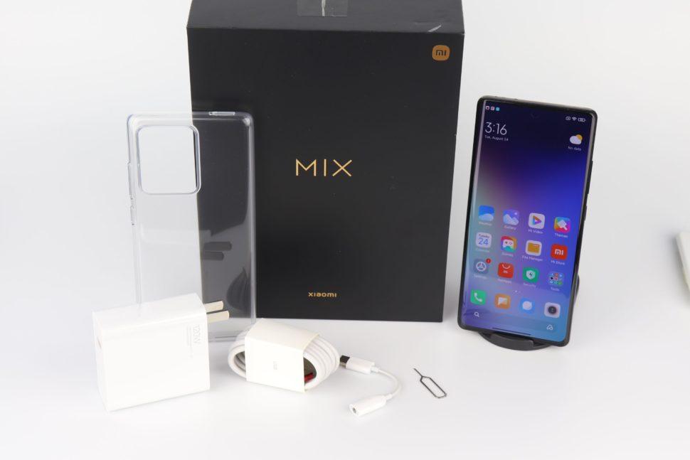 Xiaomi Mi Mix 4 Lieferumfang