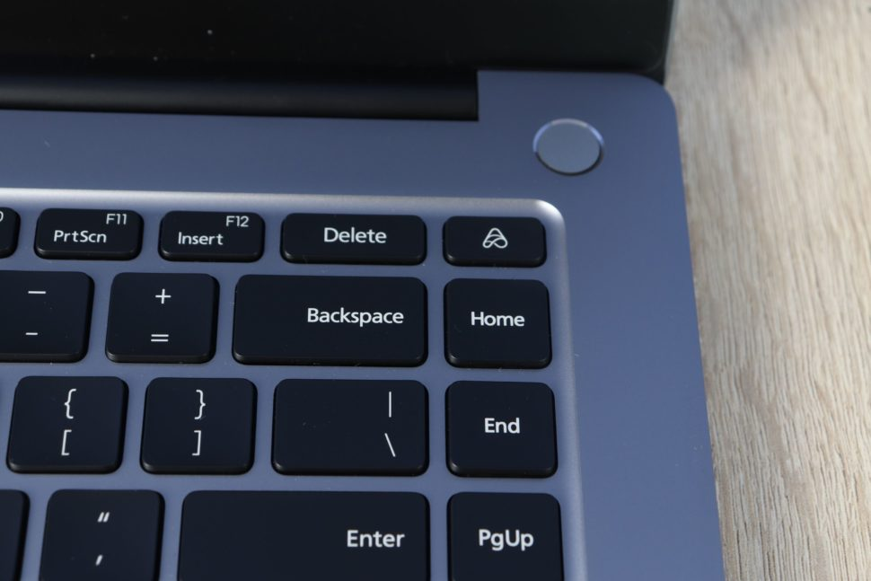 RedmiBook Pro 15 Ryzen AI Button