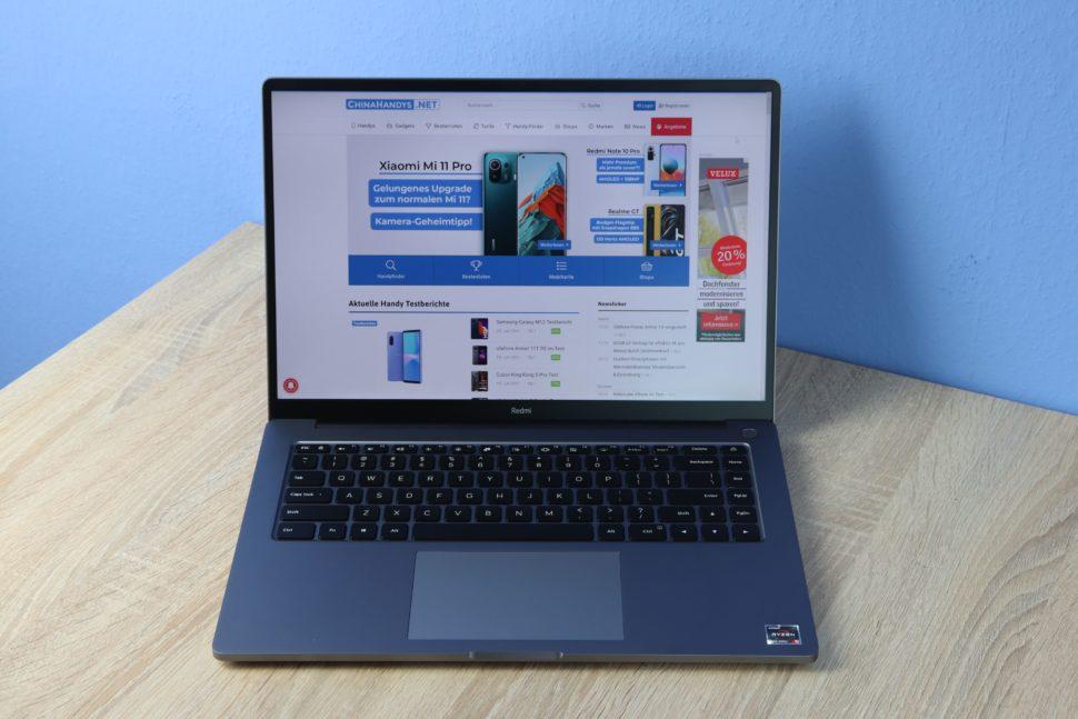 RedmiBook Pro 15 Ryzen Test