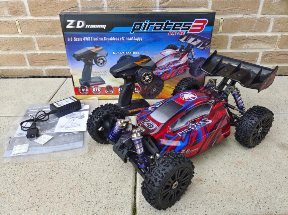 ZD Racing XB 8E 01