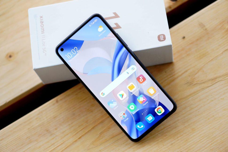 Xiaomi 11 Lite 5G NE Smartphone 5