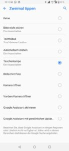 Asus Zenfone 6 Android 9 button remapper 1
