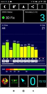 GPS Test Empfang Fix Redmi 7a 2