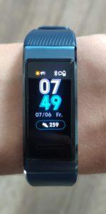 Huawei Band 3 Pro Dsiplay 1