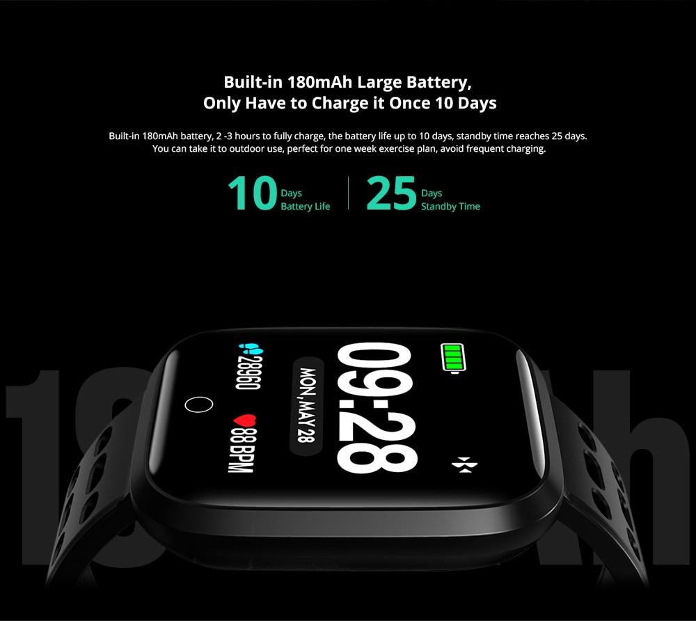Lenovo E1 Smartwatch Akku