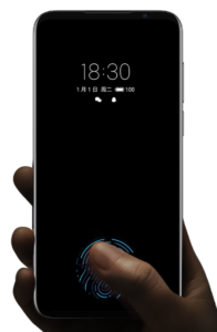 Meizu 16S always on Fingerabdrucksensor im Display