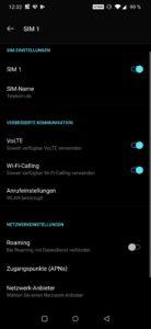 OnePlus 7 Pro Testbericht Inaktivitätsdisplay Screenshot