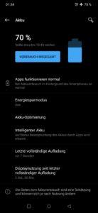 OnePlus 7 Pro Testbericht Screenshots 2