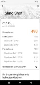 Oukitel C15 Pro 3DMark