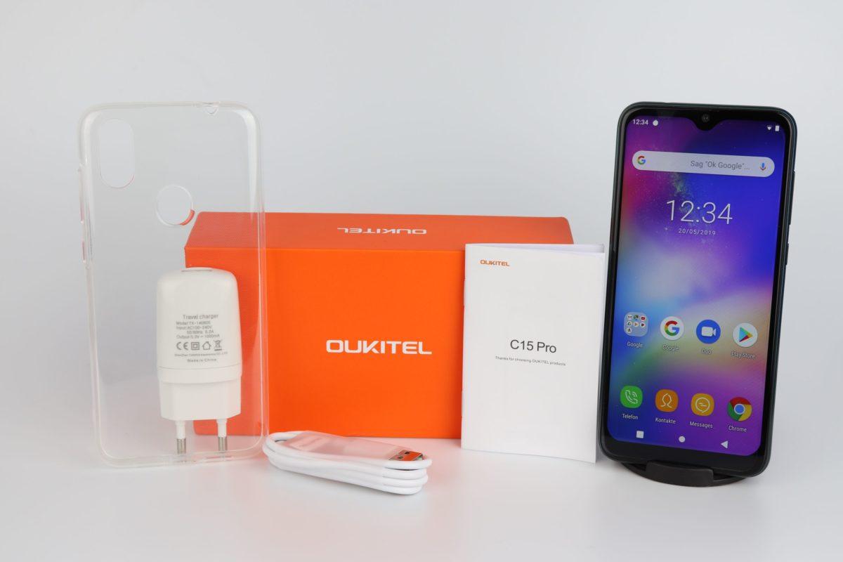 Oukitel C15 Pro Lieferumfang